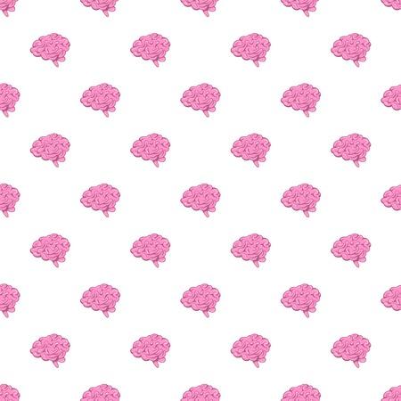 Brain pattern, cartoon style Stock Photo