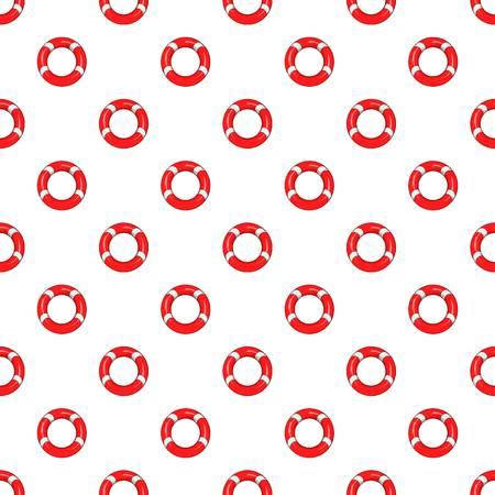 Lifeline pattern, cartoon style Stock Photo
