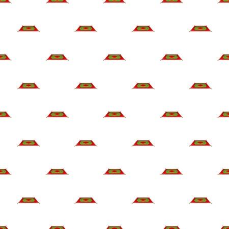 Carpet pattern. Cartoon illustration of carpet pattern for web 写真素材
