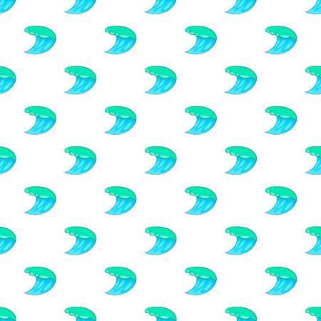 Water wave pattern, cartoon style Stock Photo
