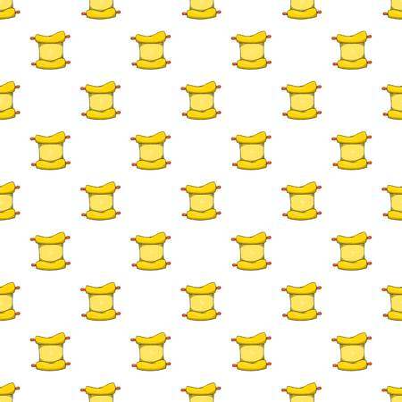Papyrus pattern, cartoon style Stock Photo