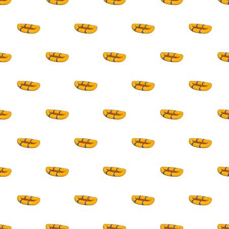 Inflatable boat pattern, cartoon style Stock Photo