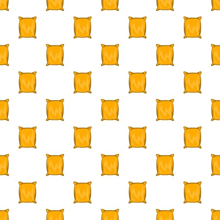 Square packing pattern, cartoon style Stock Photo