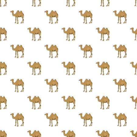 Camel pattern, cartoon style