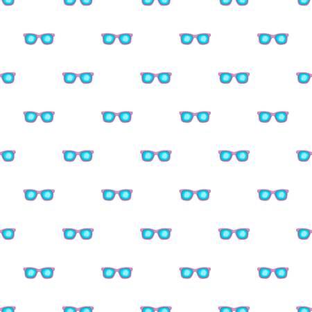 Glasses pattern, cartoon style Reklamní fotografie