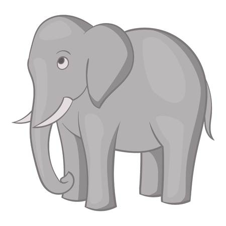 Elephant icon, cartoon style Standard-Bild - 107287854