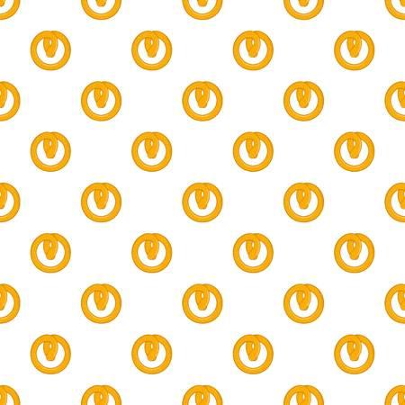 Pretzels pattern, cartoon style