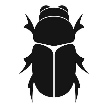 Chafer  icon, simple style Banco de Imagens