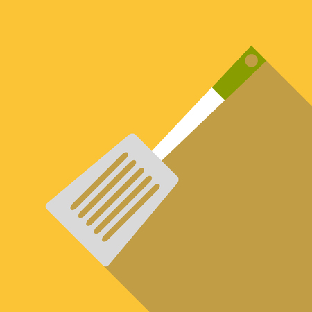 Spatula for cooking icon. Flat illustration of spatula for cooking icon for web
