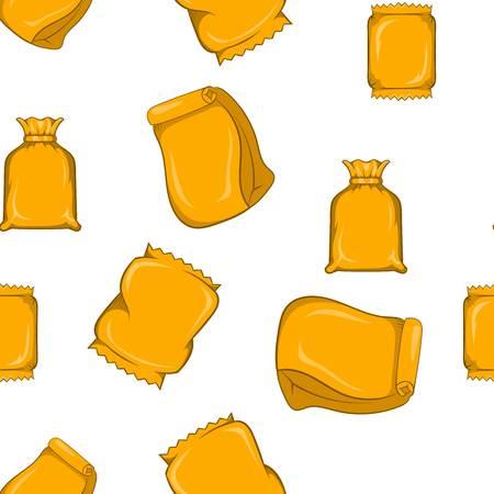 Pack pattern, cartoon style Stock Photo
