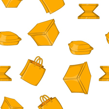 Container pattern, cartoon style