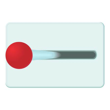 Lever of inclusion icon, cartoon style Stockfoto - 107323690