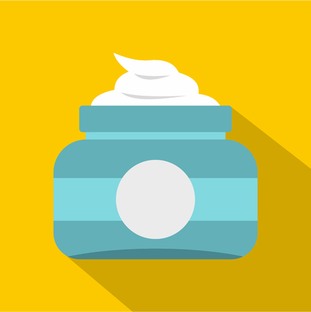 Ointment icon. Flat illustration of ointment icon for web