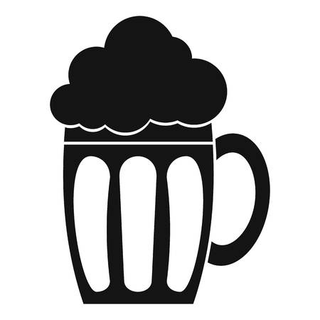Beer icon. Simple illustration of beer icon for web