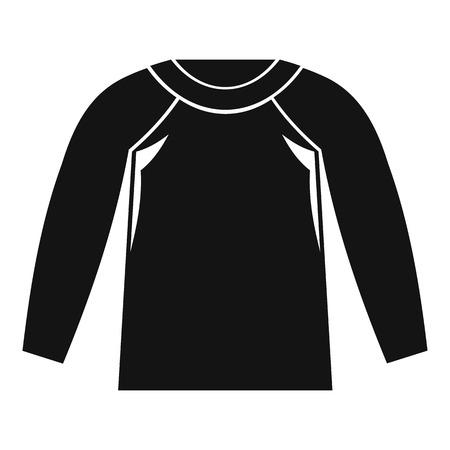Sports jacket, icon, simple style Archivio Fotografico - 107351463