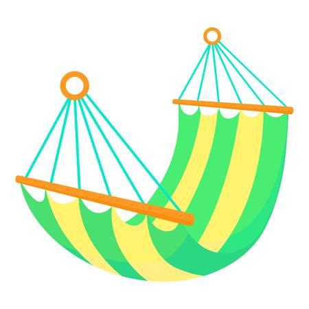 Hammock icon. Cartoon illustration of hammock icon for web Stock fotó