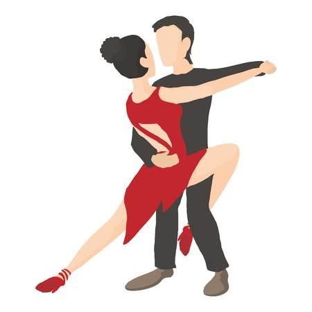 Tango icon, cartoon style