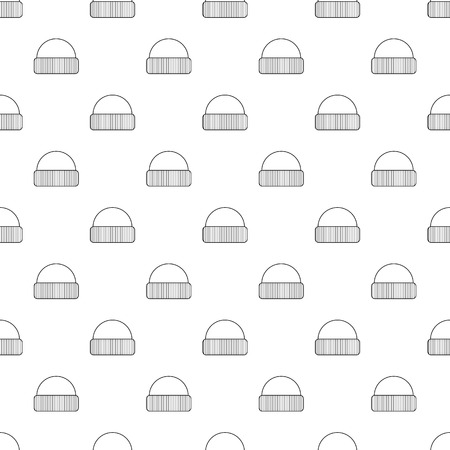 Hat icon. Outline illustration of hat vector icon for web