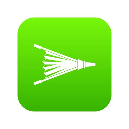 Fire bellows icon digital green for any design isolated on white illustration