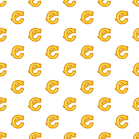 Cent currency symbol pattern. Cartoon illustration of cent currency symbol pattern for web