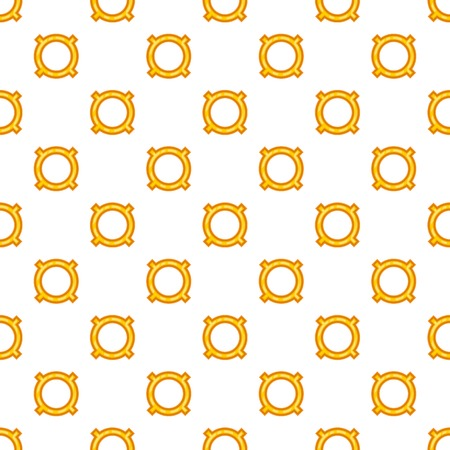 Generic currency symbol pattern. Cartoon illustration of generic currency symbol pattern for web Stock Photo