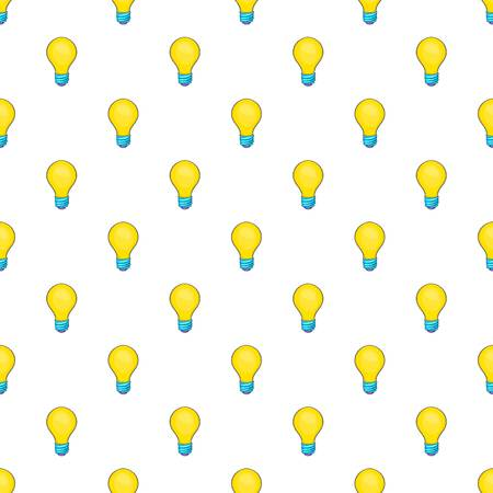 Bulb pattern. Cartoon illustration of bulb pattern for web