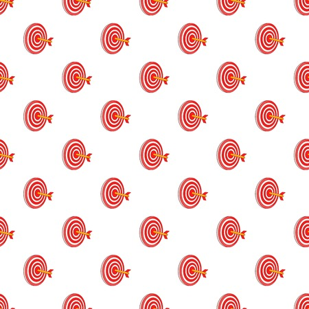 Target pattern. Cartoon illustration of target pattern for web