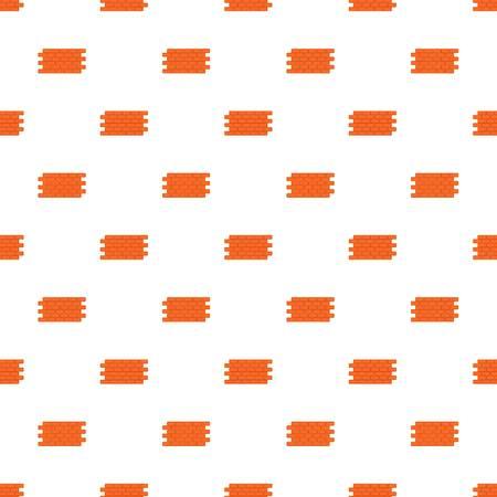 Brick wall pattern. Cartoon illustration of brick wall pattern for web