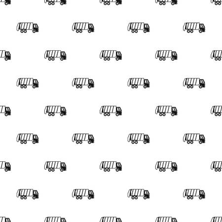 Truck for garbage pattern. Simple illustration of truck for garbage pattern for web 版權商用圖片 - 107487157