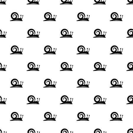 Snail pattern seamless repeating for any web design