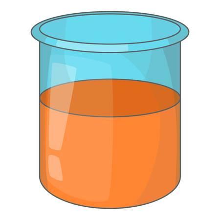 Glass jar icon, cartoon style Stock Photo