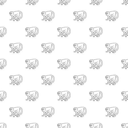 Capuchin pattern seamless repeating for any web design