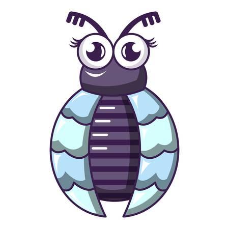 Fly icon, cartoon style