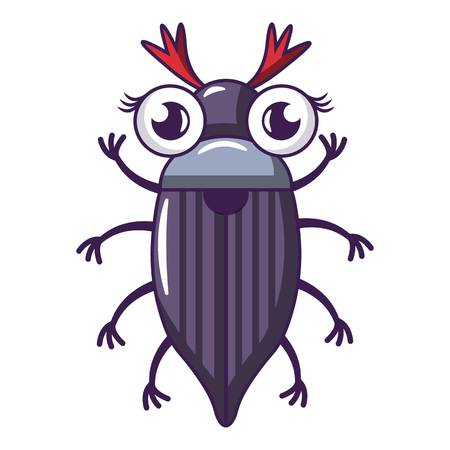 May bug icon, cartoon style