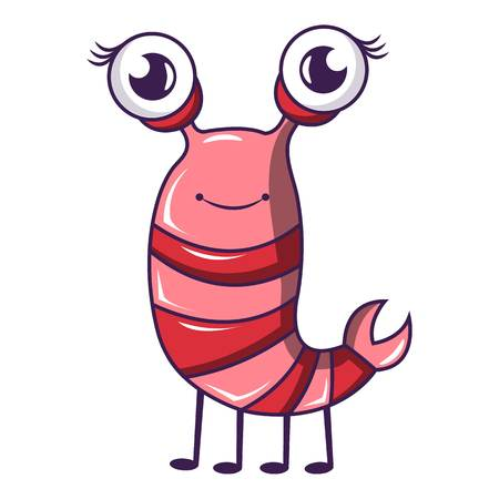 Little bug icon, cartoon style