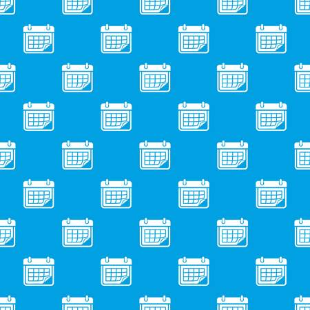 Planner pattern vector seamless blue repeat for any use