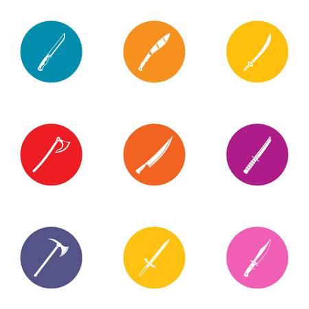 Jeu d'icônes de bord. Ensemble plat de 9 icônes vectorielles de bord pour le web isolé sur fond blanc