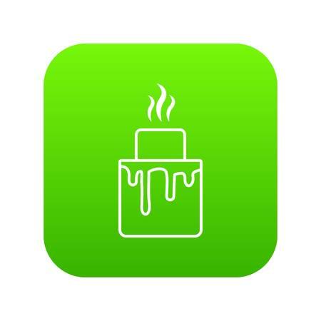 Empanadas icon green