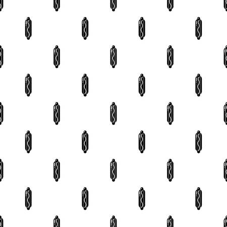Hot dog pattern seamless Standard-Bild - 108684243