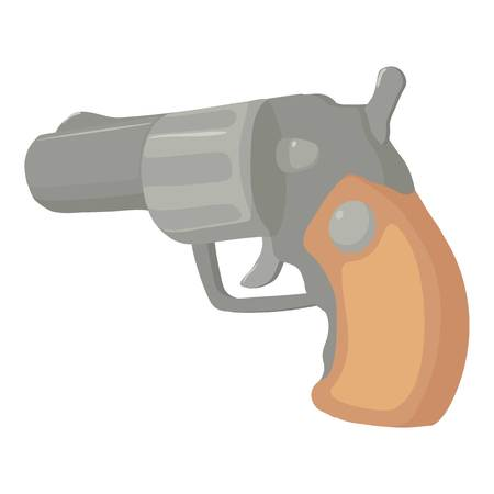 Gun icon. Cartoon illustration of gun icon for web