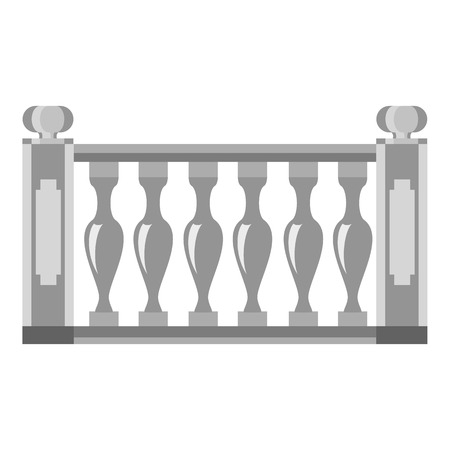 Balustrade icon. Cartoon illustration of balustrade icon for web Stockfoto