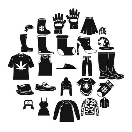 Purchase of accessories icons set. Simple set of 25 purchase of accessories vector icons for web isolated on white background