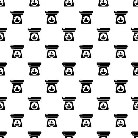 Spa aroma bottle pattern vector seamless repeating for any web design Foto de archivo - 109686242