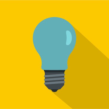 Lamp icon, flat style