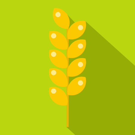 Tight spike icon, flat style Stock Photo