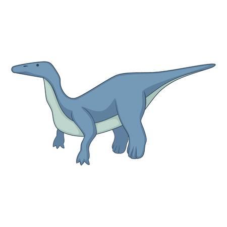 Brontosaurus icon. Cartoon illustration of brontosaurus icon for web