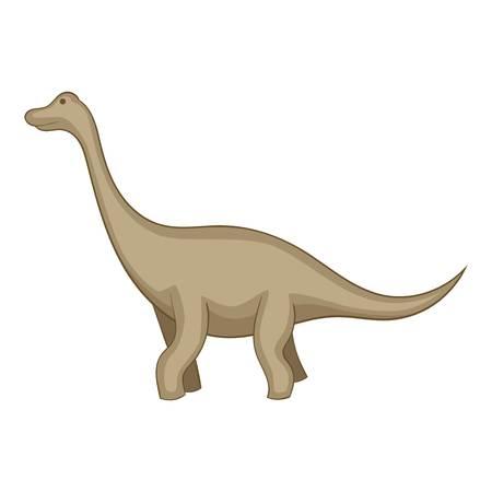 Tyrannosaurus icon. Cartoon illustration of tyrannosaurus icon for web