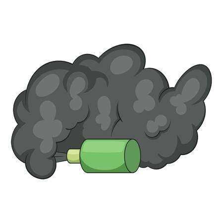 Molotov cocktail icon. Cartoon illustration of Molotov cocktail icon for web