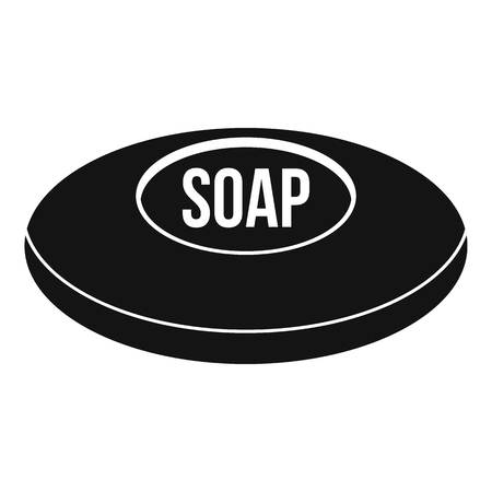 Soap icon. Simple illustration of soap icon for web Stock Photo