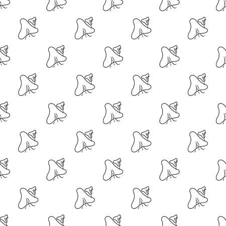 Smallpox virus pattern vector seamless repeating for any web design